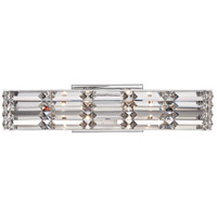 Quoizel Royale 4 Light Bath Light in Polished Chrome RYE8604C