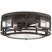 Quoizel SCR1614OZ Sector 3 Light 14 inch Old Bronze Flush Mount Ceiling Light