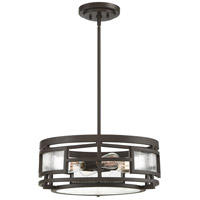 Quoizel SCR1718OZ Sector 4 Light 18 inch Old Bronze Semi-Flush Mount Ceiling Light