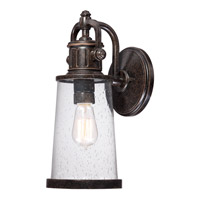 Quoizel Steadman 1 Light Outdoor Wall Lantern in Imperial Bronze SDN8407IBFL