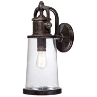 Quoizel Lighting Steadman 1 Light Outdoor Wall Lantern in Imperial Bronze SDN8408IB