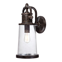 Quoizel Steadman 1 Light Outdoor Wall Lantern in Imperial Bronze SDN8408IBFL