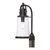 Quoizel Steadman 1 Light Outdoor Post Lantern in Imperial Bronze SDN9008IBFL
