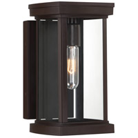 Quoizel SDV8306WT Sandoval 1 Light 12 inch Western Bronze Outdoor Wall Lantern