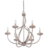 Quoizel Serenity 6 Light Chandelier in Italian Fresco SER5006IF