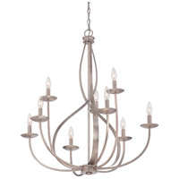 Quoizel Serenity 9 Light Chandelier in Italian Fresco SER5009IF