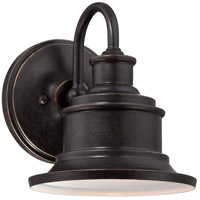 Quoizel Lighting Seaford 1 Light Outdoor Wall Lantern in Imperial Bronze SFD8407IB
