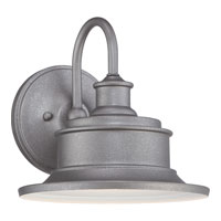 Quoizel Lighting Seaford 1 Light Outdoor Wall Lantern in Galvanized SFD8409GV