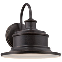 Quoizel Seaford 1 Light Outdoor Wall Lantern in Imperial Bronze SFD8409IB
