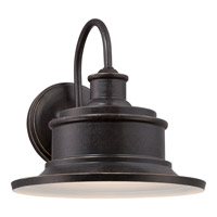 Quoizel Seaford 1 Light Outdoor Wall Lantern in Imperial Bronze SFD8409IBFL