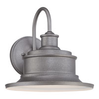 Quoizel Seaford 1 Light Outdoor Wall Lantern in Galvanized SFD8411GV