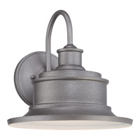 Quoizel Seaford 1 Light Outdoor Wall Lantern in Galvanized SFD8411GVFL