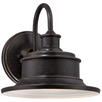 Quoizel Lighting Seaford 1 Light Outdoor Wall Lantern in Imperial Bronze SFD8411IB