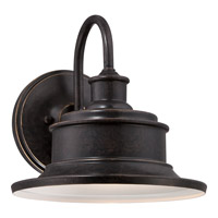 Quoizel Seaford 1 Light Outdoor Wall Lantern in Imperial Bronze SFD8411IBFL