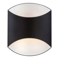 Quoizel Lighting Sheath 1 Light Wall Sconce in Mystic Black SHT8801K
