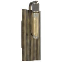 Quoizel SKR8605SU Spinnaker 1 Light 6 inch Statuary Bronze Wall Sconce Wall Light