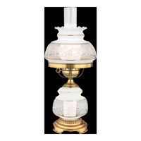 Quoizel SL701G Satin Lace 20 inch 150 watt Gold Polished Flem Table Lamp Portable Light alternative photo thumbnail