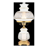 Quoizel SL703G Satin Lace 28 inch 150 watt Gold Polished Flem Table Lamp Portable Light  alternative photo thumbnail