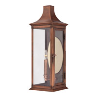 Quoizel Lighting Salem 2 Light Outdoor Wall Lantern in Aged Copper SLM8308AC alternative photo thumbnail