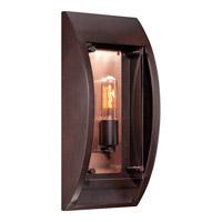 Quoizel Solano 1 Light Outdoor Wall in Copper Bronze SLO8407CU