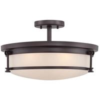 Quoizel SLR1716WT Sailor 4 Light 16 inch Western Bronze Semi-Flush Mount Ceiling Light