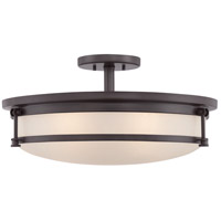 Quoizel Sailor 5 Light Semi-Flush Mount in Western Bronze SLR1720WT
