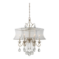 Silhouette 6 Light 28 inch Italian Fresco Chandelier Ceiling Light