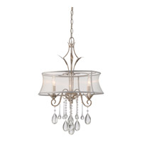 Quoizel Silhouette 3 Light Chandelier in Italian Fresco SLT5303IF