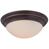 Summit 2 Light 14 inch Palladian Bronze Flush Mount Ceiling Light