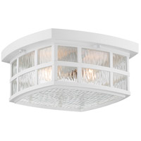 Quoizel SNN1612W Stonington 2 Light 12 inch Fresco Flush Mount Ceiling Light