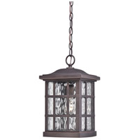 Stonington 1 Light 10 inch Palladian Bronze Outdoor Hanging Lantern in A19 Medium Base