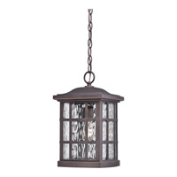 Quoizel Stonington 1 Light Outdoor Hanging Lantern in Palladian Bronze SNN1909PNFL
