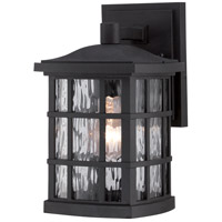 Quoizel Stonington 1 Light Outdoor Wall in Mystic Black SNN8406K