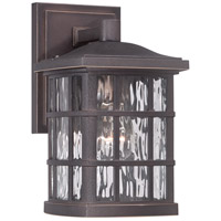Stonington 1 Light 11 inch Palladian Bronze Outdoor Wall Lantern in A19 Medium Base