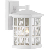Quoizel SNN8406W Stonington 1 Light 7 inch Fresco Wall Lantern Wall Light in A19 Medium Base