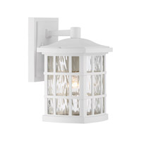Quoizel Stonington 1 Light Wall Lantern in Fresco SNN8406WFL