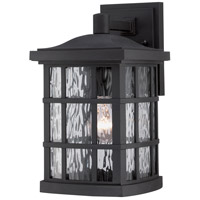 Quoizel Stonington 1 Light Outdoor Wall in Mystic Black SNN8408K