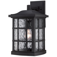 Quoizel Stonington 1 Light Outdoor Wall in Mystic Black SNN8409K