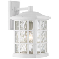 Quoizel SNN8409W Stonington 1 Light 10 inch Fresco Wall Lantern Wall Light in A19 Medium Base
