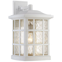 Quoizel SNN8411W Stonington 1 Light 17 inch Fresco Outdoor Wall Lantern in Incandescent