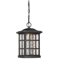 Stonington LED 10 inch Mystic Black Outdoor Hanging Lantern