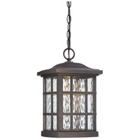 Stonington LED 10 inch Palladian Bronze Outdoor Hanging Lantern