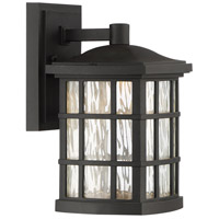 Stonington LED 11 inch Mystic Black Outdoor Wall Lantern