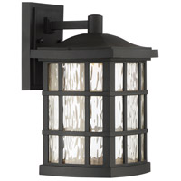 Stonington LED 13 inch Mystic Black Outdoor Wall Lantern