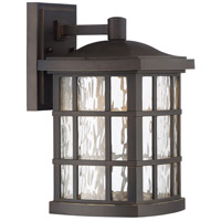 Stonington LED 13 inch Palladian Bronze Outdoor Wall Lantern