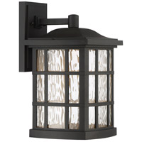 Stonington LED 16 inch Mystic Black Outdoor Wall Lantern
