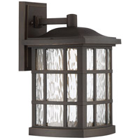 Stonington LED 16 inch Palladian Bronze Outdoor Wall Lantern