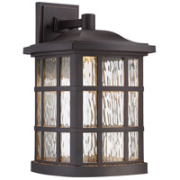 Quoizel Stonington Outdoor Wall Lantern in Palladian Bronze SNNL8411PN