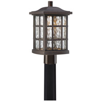 Stonington LED 17 inch Palladian Bronze Outdoor Post Lantern