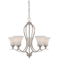 Sophia 5 Light 27 inch Brushed Nickel Chandelier Ceiling Light